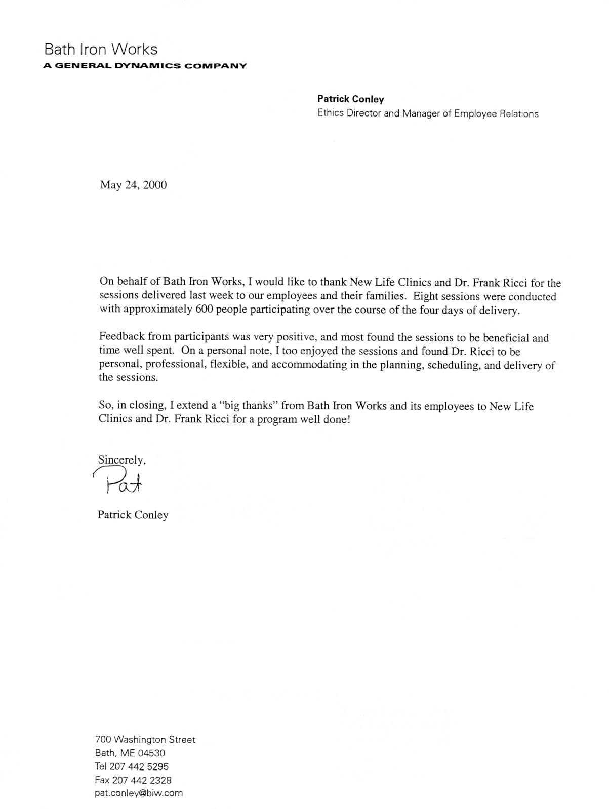 Doc404536 Endorsement Letter for Employment Sample – Endorsement Letter for Employment